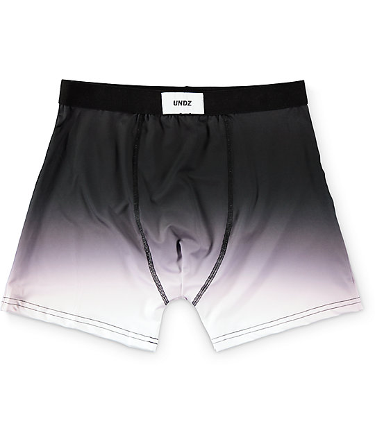 Undz Black Gradient Boxer Briefs