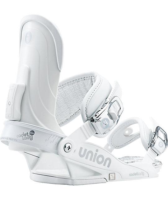 Union Cadet White Womens Snowboard Bindings