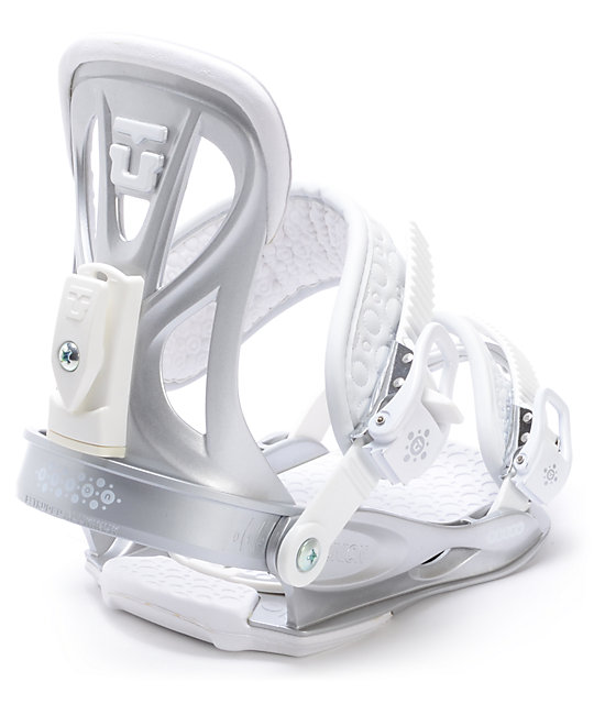 Union Flite Lady Silver Womens Snowboard Bindings