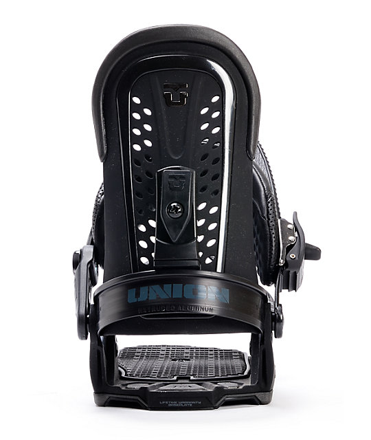 Union Force Black Mens Snowboard Bindings