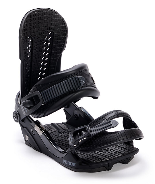 Union Force Black Snowboard Bindings