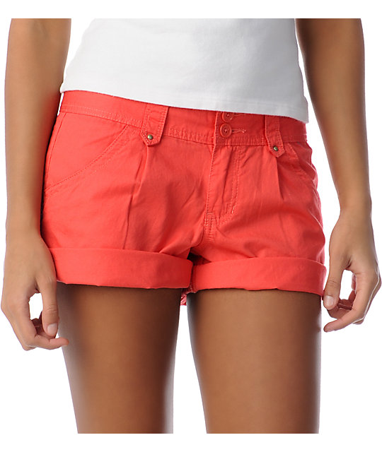 Unionbay Laurel Coral Shorts