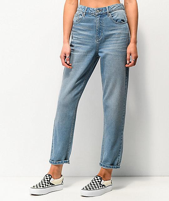 Unionbay Vintage Light Wash Mom Jeans