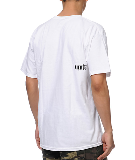 Unit Paradise White T-Shirt