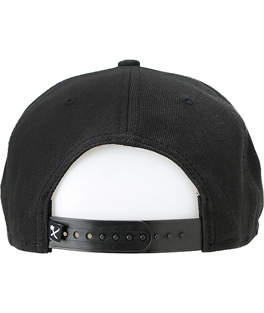 Us Vs Them Paulo Black Snapback Hat