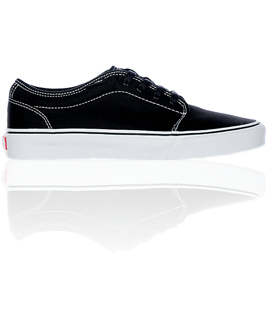 Vans 106 Vulcanized Black Shoes