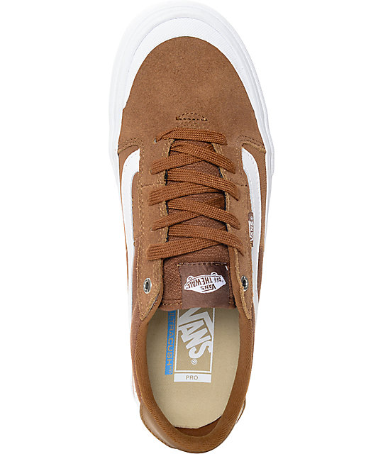Vans 112 Pro Tobacco & White Skate Shoes