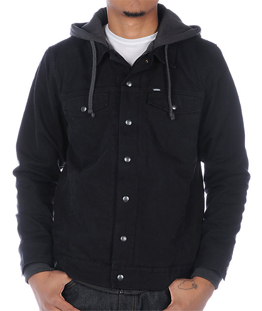 Vans AV Edict Black Jean Jacket
