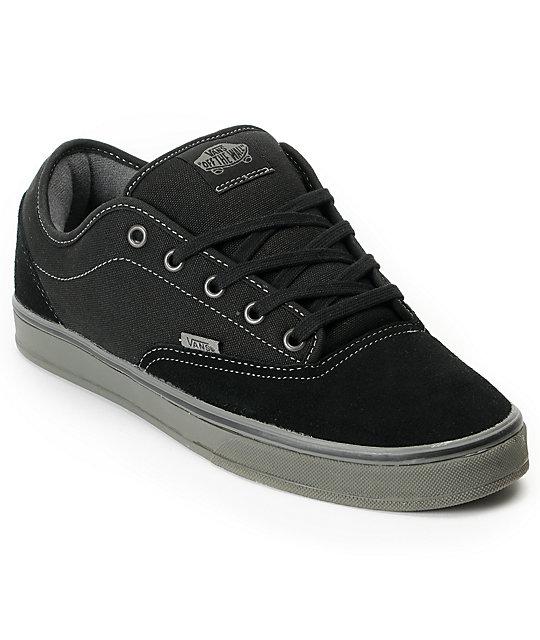 Vans AV Era 1.5 Black & Grey Skate Shoes (Mens)