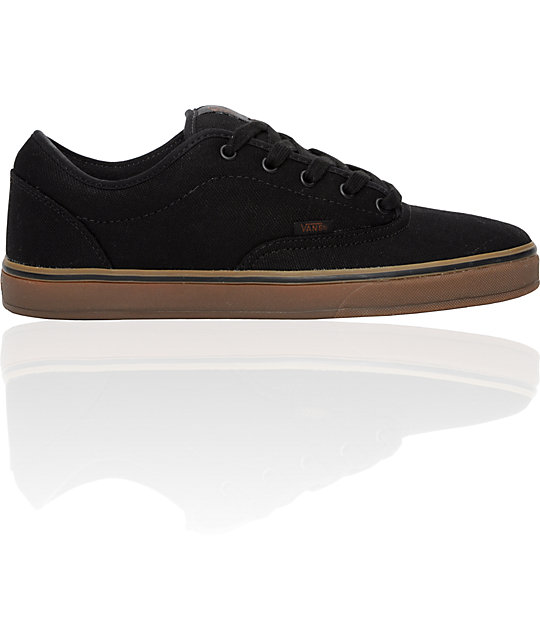 Vans AV Era 1.5 Black & Gum Skate Shoes