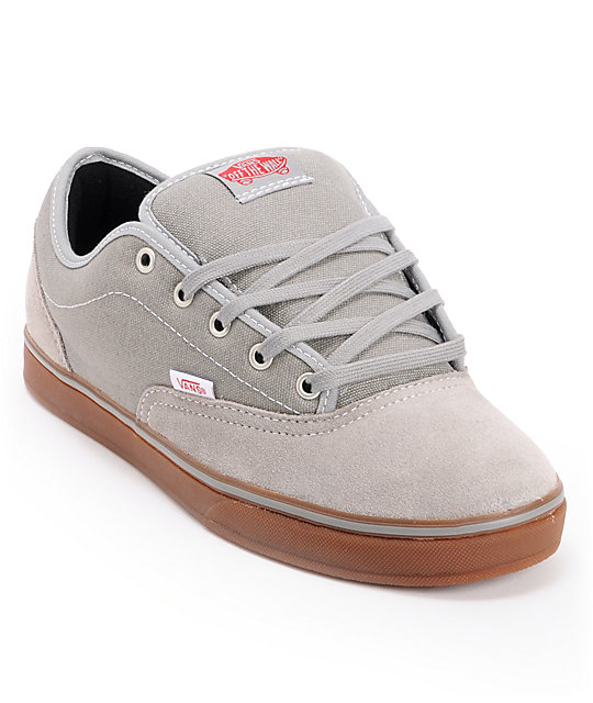Vans AV Era 1.5 Mid Grey & Gum Skate Shoes (Mens)