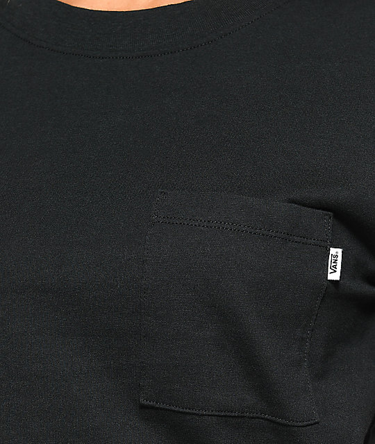 Vans Aerial OTW Black Pocket T-Shirt