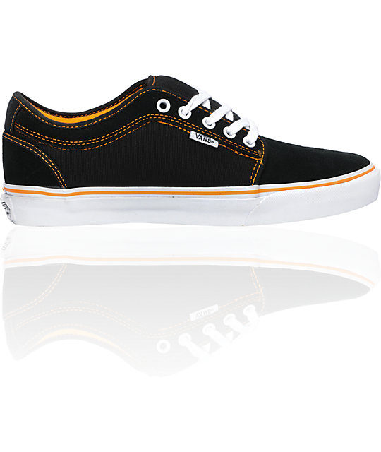 Vans Andrew Allen Chukka Low Black & Orange Skate Shoes
