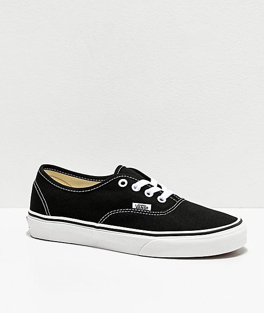 Vans Authentic Black Shoes