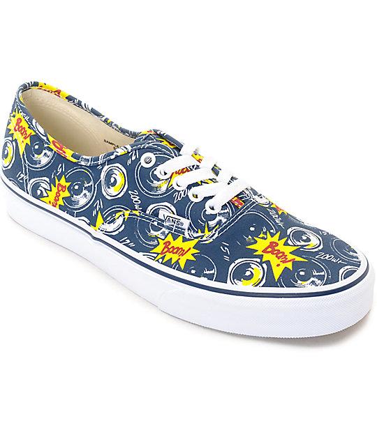 Vans Authentic Boom City Skate Shoes