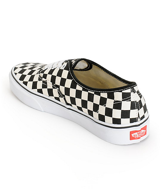 Vans Authentic Checkerboard Skate Shoes