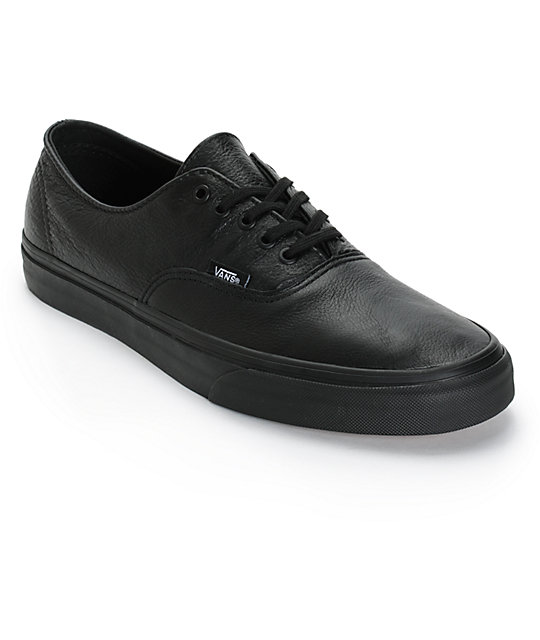 Vans Authentic Decon Leather Skate Shoes