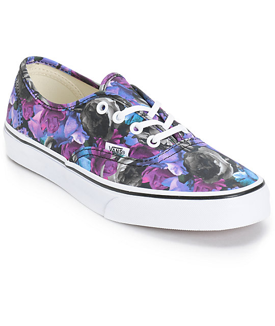 Vans Authentic Digi Floral Shoes (Womens)