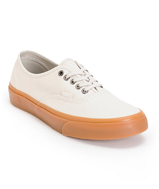 Vans Authentic Frost Birch Canvas Skate Shoes
