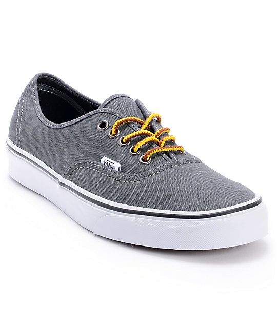 Vans Authentic Hiker Gargoyle Grey Skate Shoes (Mens)