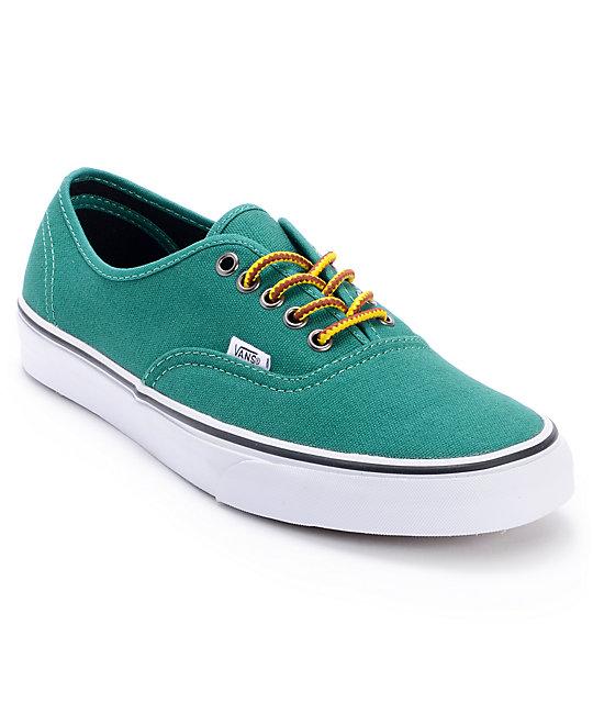 Vans Authentic Hiker Verdant Green Skate Shoes (Mens)