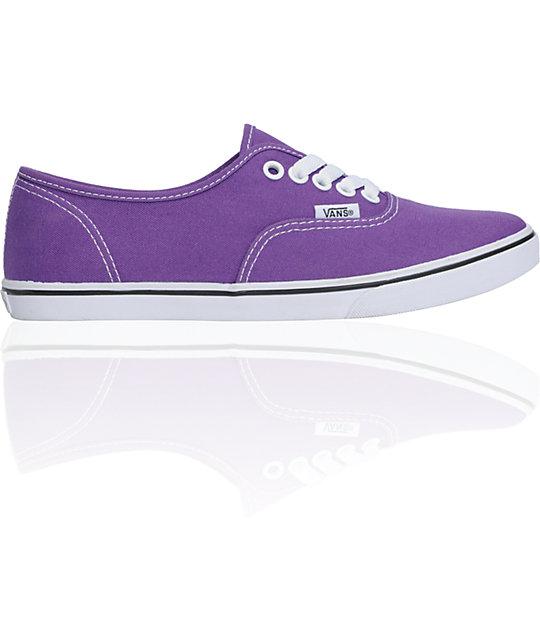 Vans Authentic Lo Pro Amaranth Purple Shoes
