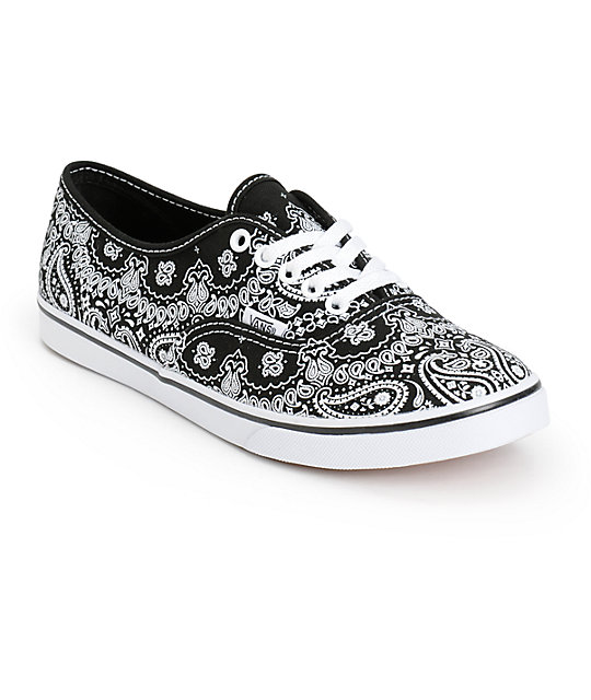 Vans Authentic Lo Pro Bandana Shoes (Womens)
