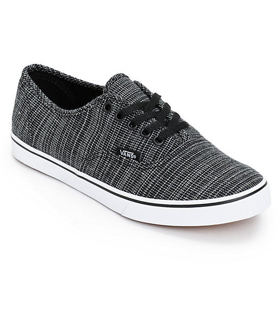 ac696c2a0390a1 vans authentic lo pro black   Come and stroll!