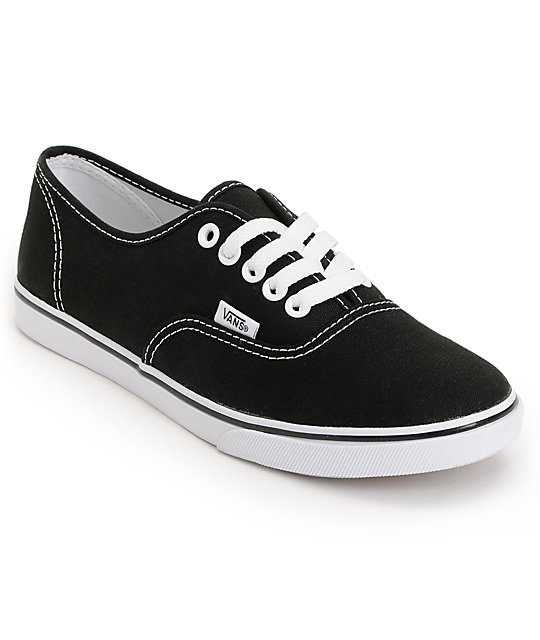 Vans Authentic Lo Pro Black Shoes at Zumiez : PDP