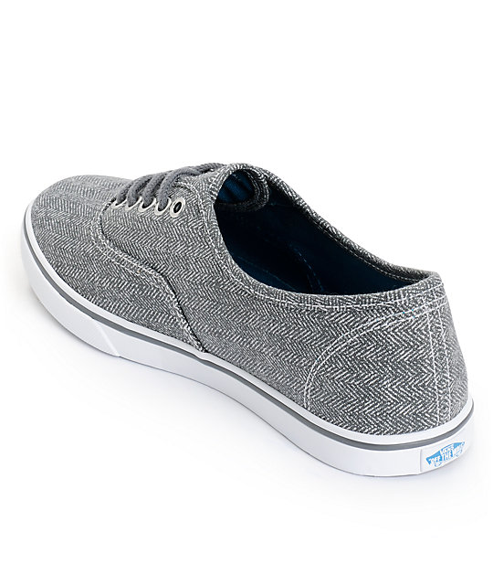 Vans Authentic Lo Pro Castlerock Grey HB Print Shoes