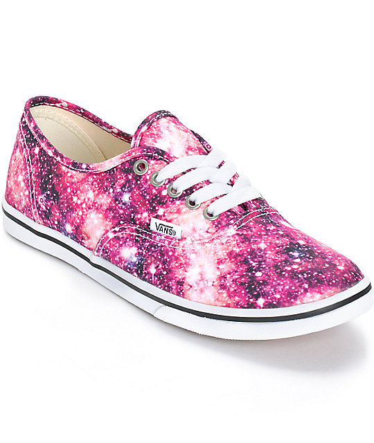 Vans Authentic Lo-Pro Cosmic Cloud Shoes (Womens)