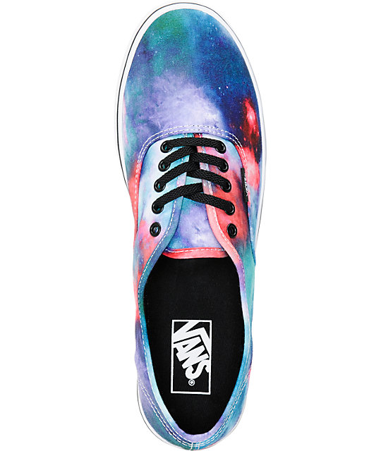 Vans Authentic Lo Pro Cosmic Galaxy Print Shoes