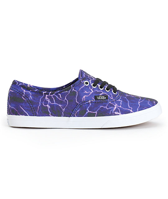 Vans Authentic Lo Pro Digi Lightning Shoes