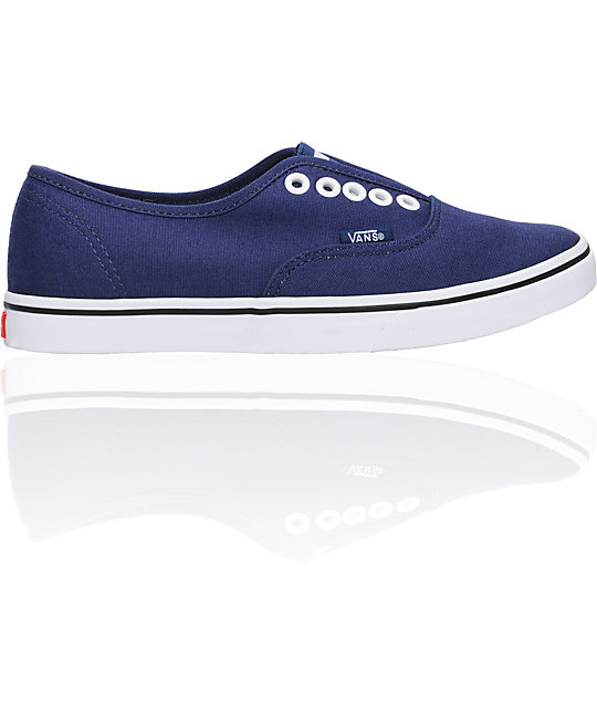 Vans Authentic Lo Pro Gore Blue Shoes (Womens)