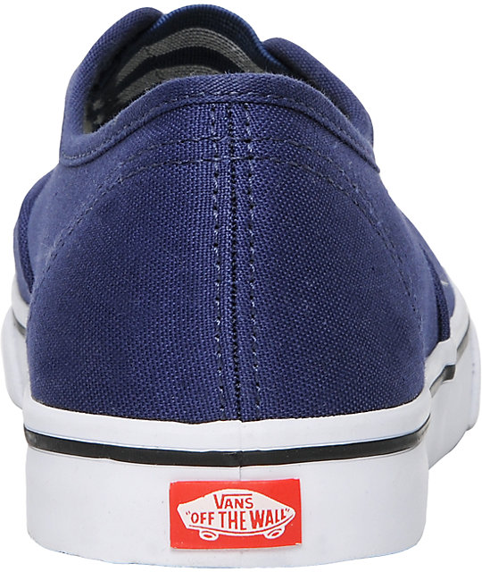 Vans Authentic Lo Pro Gore Blue Shoes