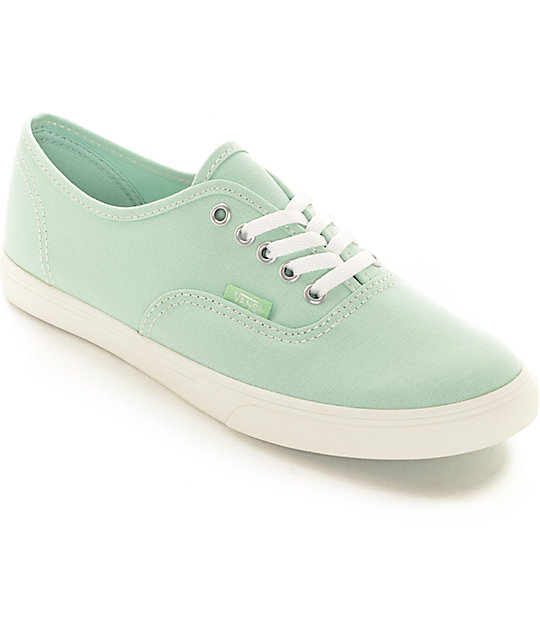 Vans Authentic Lo Pro Gossamer Green Shoes (Womens)