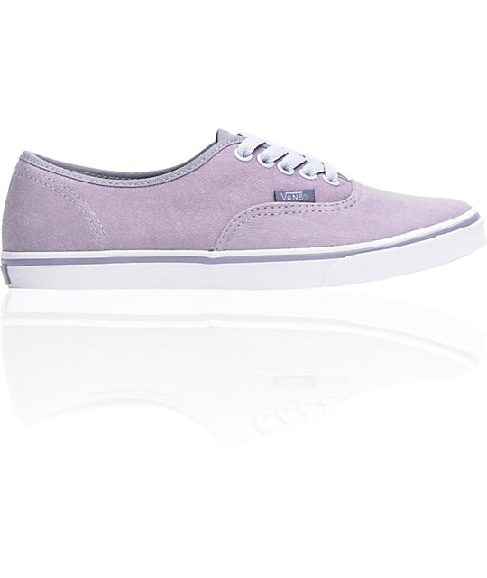 Vans Authentic Lo Pro Minimal Grey Twill Shoes