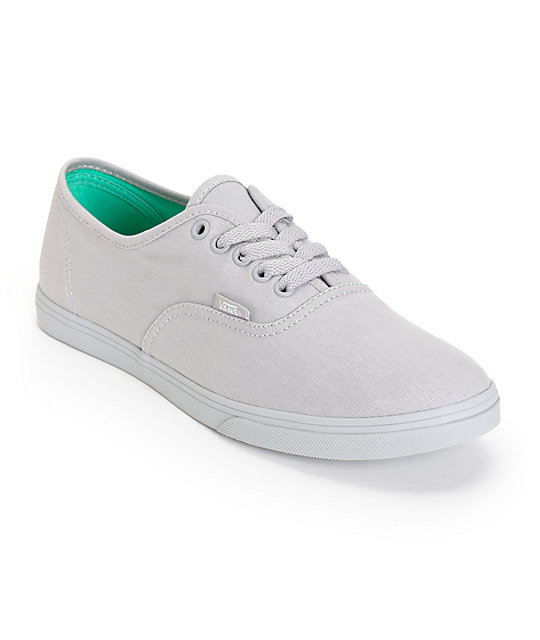 vans lo pro grey shoes