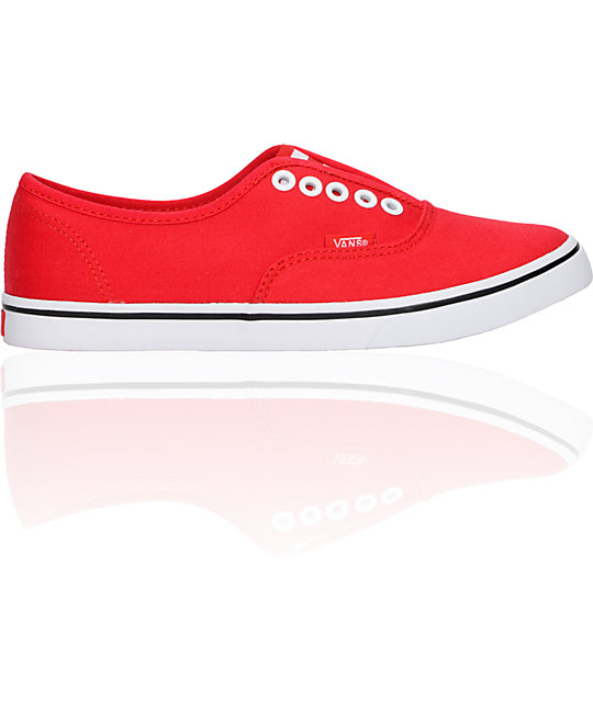 Vans Authentic Lo Pro Red Gore Shoes