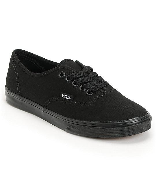 Vans Authentic Lo Pro zapatos negros