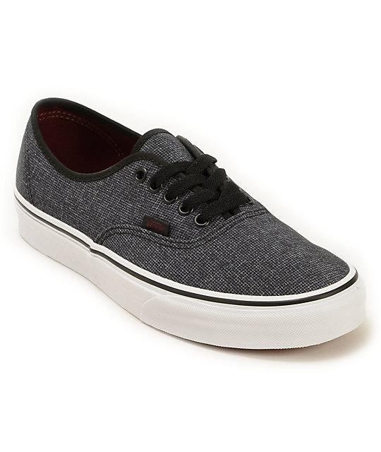 Vans Authentic Micro Grid Skate Shoes (Mens)
