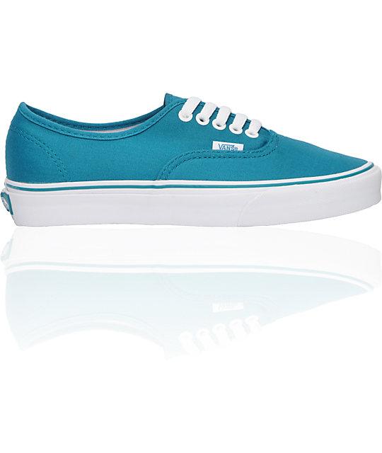 Vans Authentic Ocean Saffron Shoes