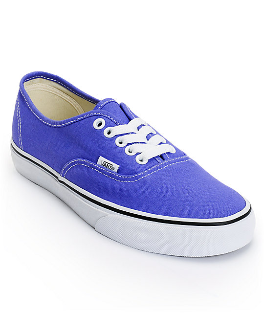 Vans Authentic Purple Iris Shoes (Womens)