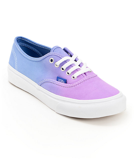 Vans Authentic Purple Ombre Shoes (Womens)