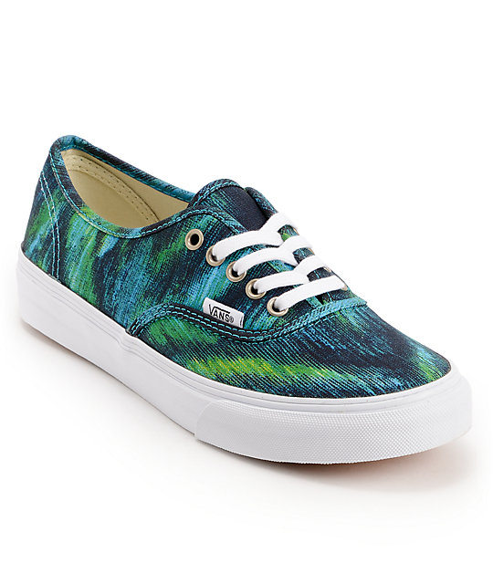 Vans Authentic Slim Watercolor Shoes