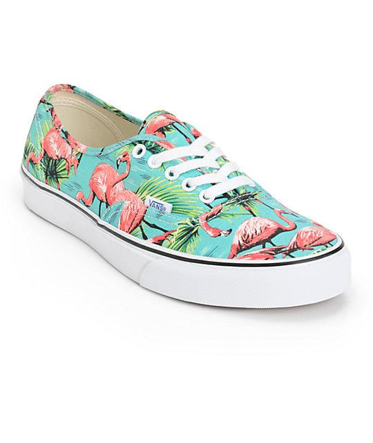 Vans Authentic Van Doren Flamingo Skate Shoes (Mens)