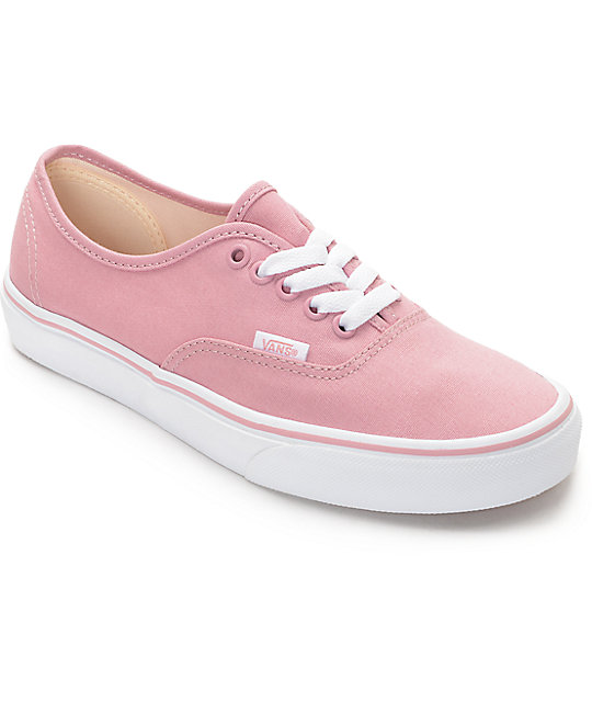 vans mens authentic ballerina pink