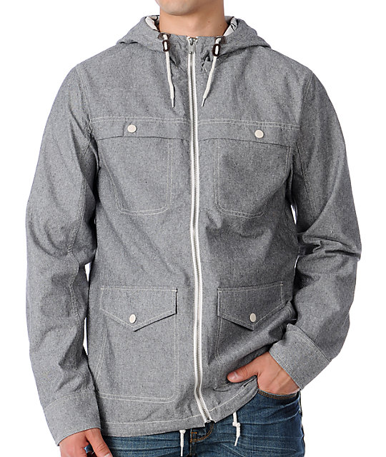 Vans Ballast Grey Chambray Jacket