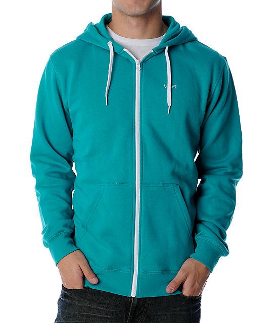 Vans Basic Turquoise Hoodie