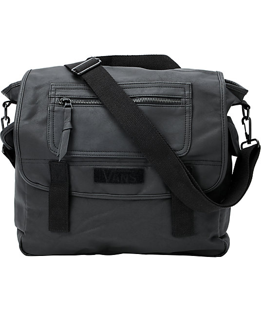 Vans Battalion Black Convertible Bag